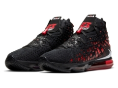 "『NIKE LEBRON 17""BLACK/WHITE-UNIVERSITY RED""』1月8日(水)発売!"