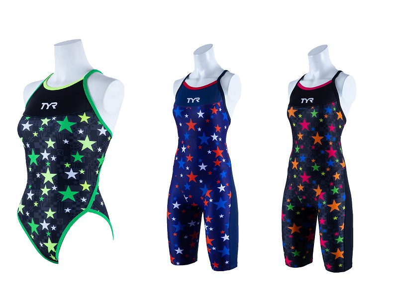 "【新作入荷】TYR 2020SS 「TRAINING TEAM CHRVRON」シリーズ ""STAR LIGHT""デザイン!"