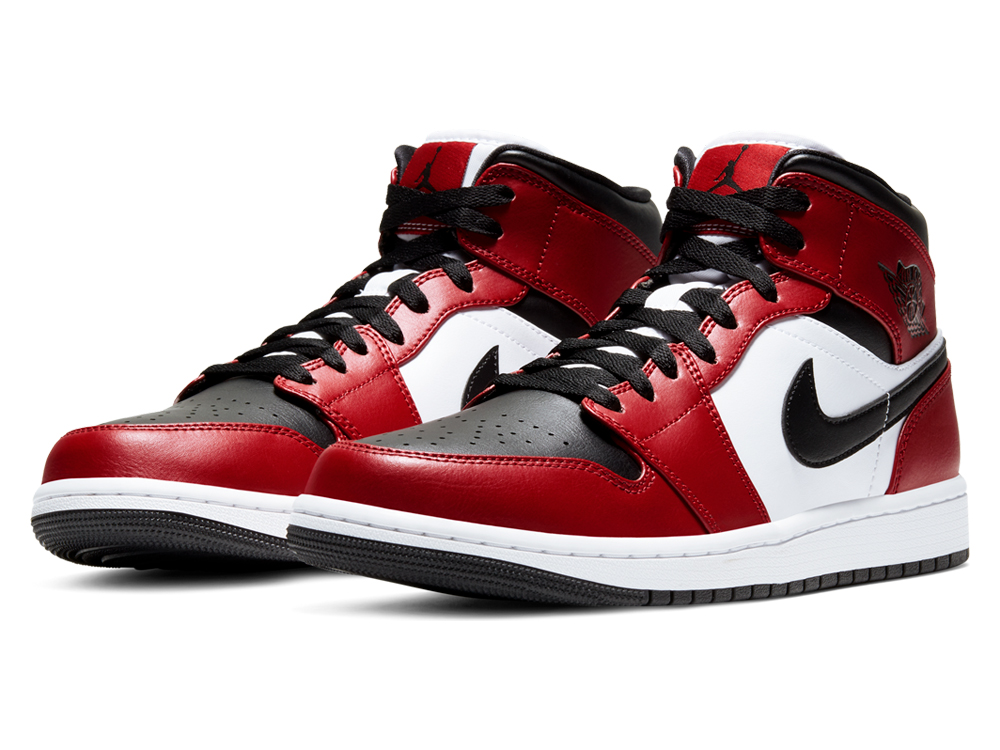 "『AIR JORDAN 1 MID""BLACK-GYM RED""』6月3日(水)発売!"